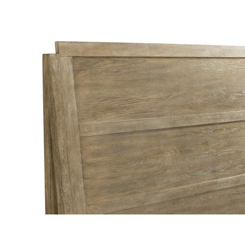 Milton Park - Queen Panel Footboard - Primitive Silk Finish