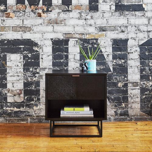 Product Image - Myles End Table Black Oak