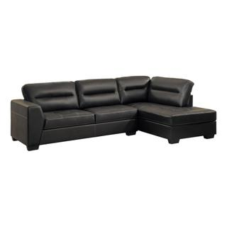 Terza Sectional Dark Brown