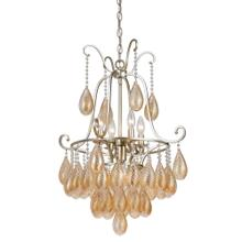 60W X 5 Marion Glass Chandelier