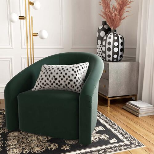 "Tov Furniture - Genuine Goatskin 12""x20"" Pillow"