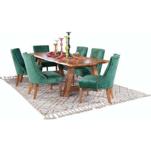 "Braxton Culler Inc - Bellport 82"" Live Edge Dining Table"