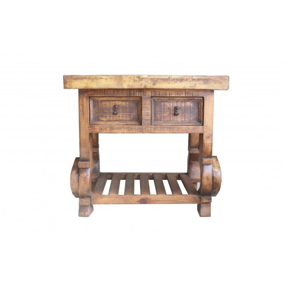 Factory 4 Rustic Kitchen Island