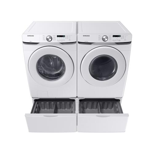 7.5 cu. ft. Gas Long Vent Dryer with Sensor Dry in White