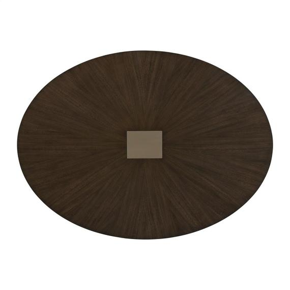 Riverside - Monterey - Oval Dining Table Top - Mink Finish