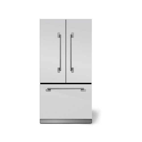 White Elise French Door Refrigerator