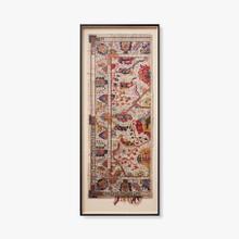 0325430008 Vintage Textile Wall Art