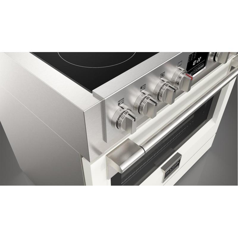"""36"""" Induction Pro Range - Glossy White"""