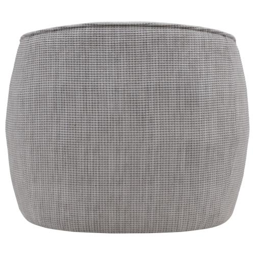 Steward Fabric Swivel Accent Chair, Squarespace Gray