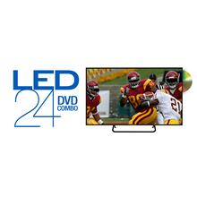 "Apex LED24E5 24"" HDTV DVD COMBO"