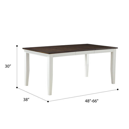 Emerald Home Furnishings - Removable Leaf Dining Table