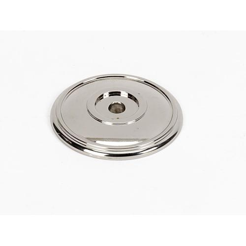 Classic Traditional Rosette A1563 - Polished Nickel