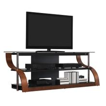 "65"" TV Stand for TVs up to 73"", Espresso"