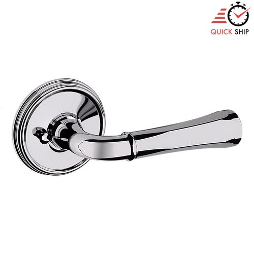 Baldwin - Polished Chrome 5113 Estate Lever with 5078 Rose