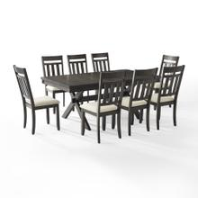 HAYDEN 9PC DINING SET