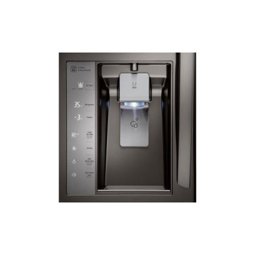 LG - 23 cu. ft. French Door Counter-Depth Refrigerator