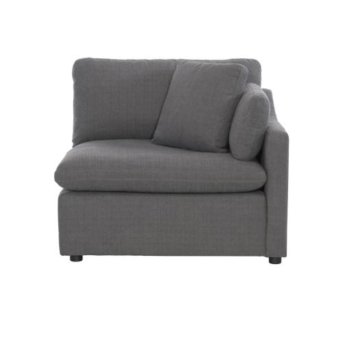 Right Side Chair with 1 Pillow