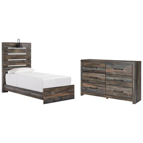 Product Image - Twin Panel Bed With Dresser