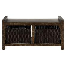 Arnld Storage Console - Dark Brown