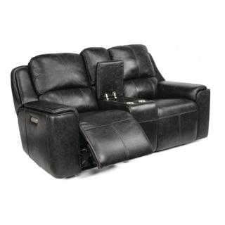 Milo Power Reclining Loveseat with Console & Power Headrests