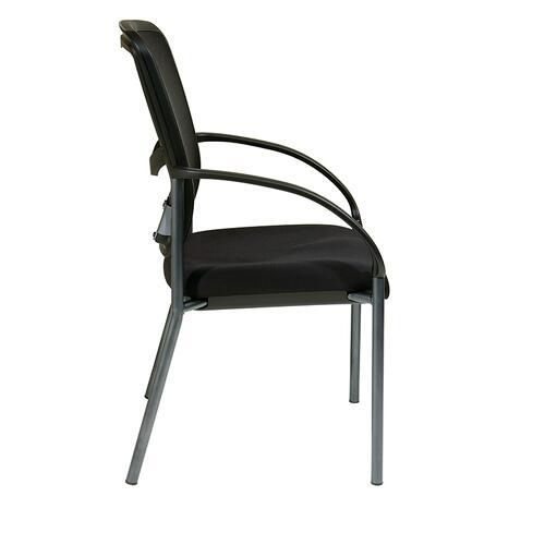 Office Star - Progrid® Back Visitors Chair With Arms