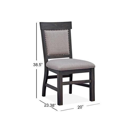 Magnussen Home - Dining Side Chair w/Upholstered Seat & Back (2/ctn)