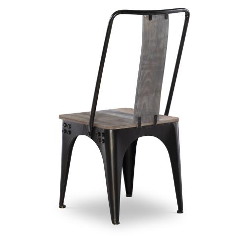 Metal Legs Side Chair, Multi