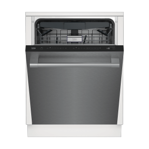 BekoTall Tub Stainless Dishwasher, 16 place settings, 45 dBa, Top Control With Water Softener