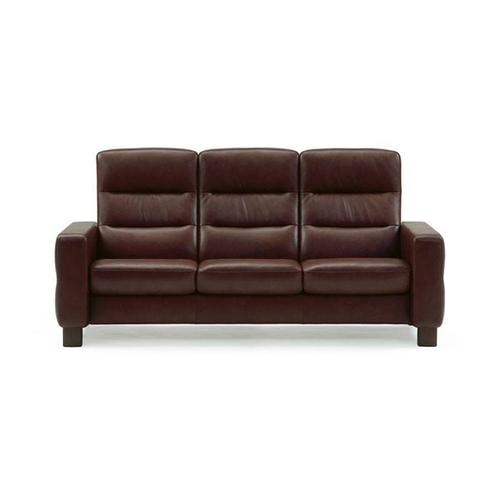 Stressless By Ekornes - Wave High Back 3-Seater