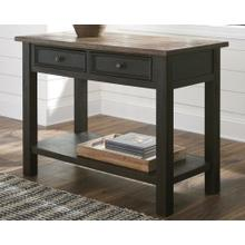 Tyler Creek Sofa Table Grayish Brown/Black