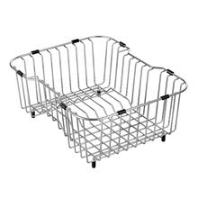 "Moen Stainless Steel D Shape Rinse Basket Accessory 14"" x 16"""