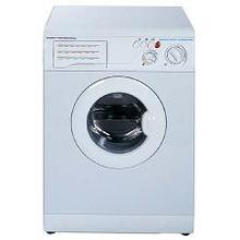 See Details - 220 Volt/ 20 Hertz front-loading washing machine for export or ships