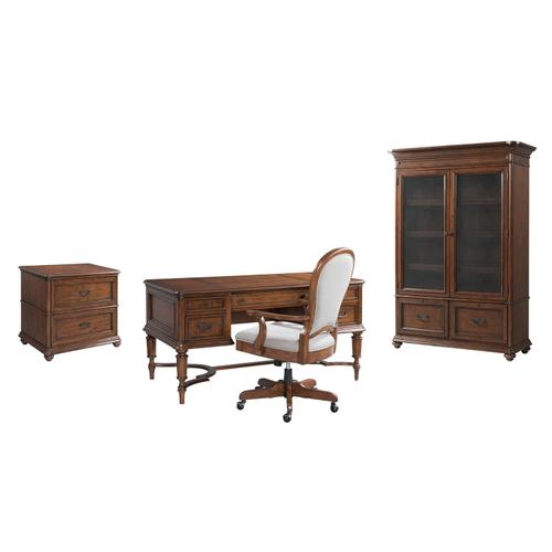 Product Image - Clinton Hill - Door Bookcase - Classic Cherry Finish