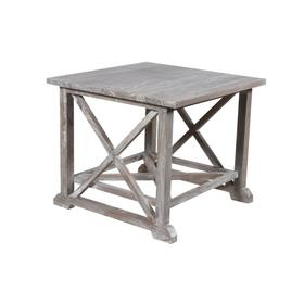 Lamp Table, Available in Vintage Smoke Finish Only.
