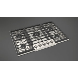 """Fulgor Milano30"""" Gas Cooktop - Stainless Steel"""