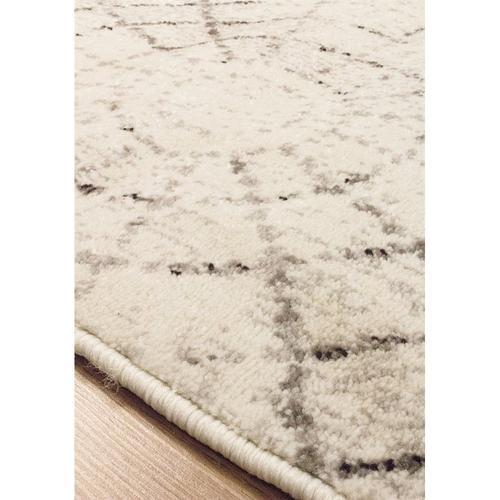 Safi 7152 White Grey 6 x 8