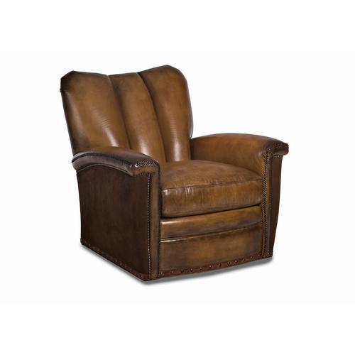 Tulip Channeled Swivel Chair