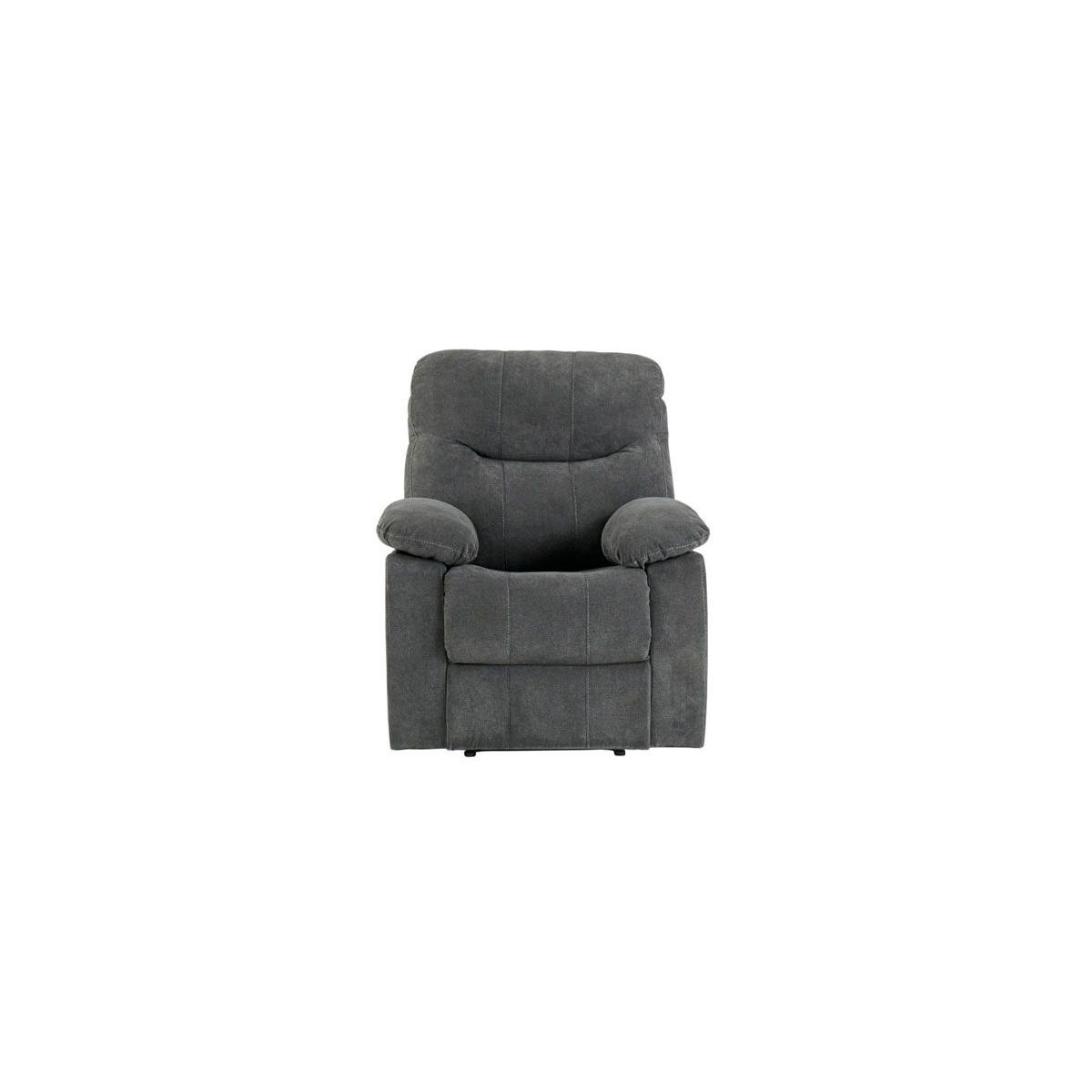 Dinero Charcoal Motion Recliner