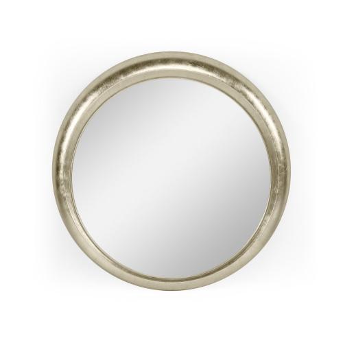 "31"" Sorbati Antique Silver Mirror"