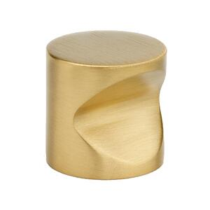 Contemporary I Knobs A823-1 - Unlacquered Brass