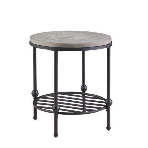 Emerald Home Furnishings - Emerald Home Cutter Round End Table T618-01