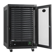 EdgeReady Micro Data Center - 15U, 1.5 kVA UPS, Network Management and PDU, 120V Assembled/Tested Unit