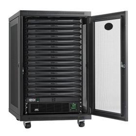 EdgeReady Micro Data Center - 15U, 1.5 kVA UPS, Network Management and PDU, 120V Assembled/Tested Unit