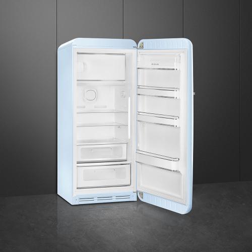 "24"" retro-style fridge, Pastel blue, Right-hand hinge"