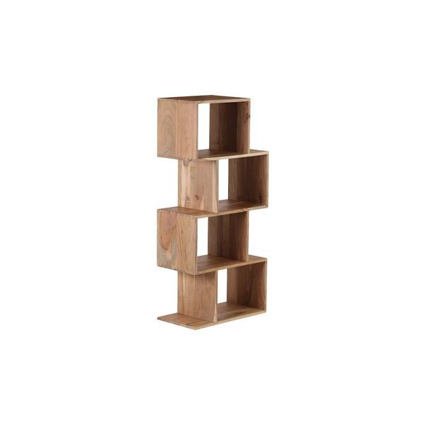 COMING SOON, PRE-ORDER NOW! Portola Natural 4 Cube Bookcase, 2001-7222NT