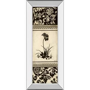 """Garden Shadow I"" By Kimberly Poloson Mirror Framed Print Wall Art"