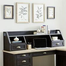 View Product - L Writing Desk Hutch