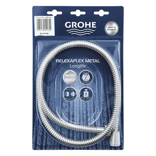 "Product Image - Relexaflex 49"" Metal Longlife Shower Hose"