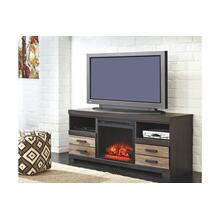 Harlinton LG TV Stand W/Fireplace Insert Two-Tone