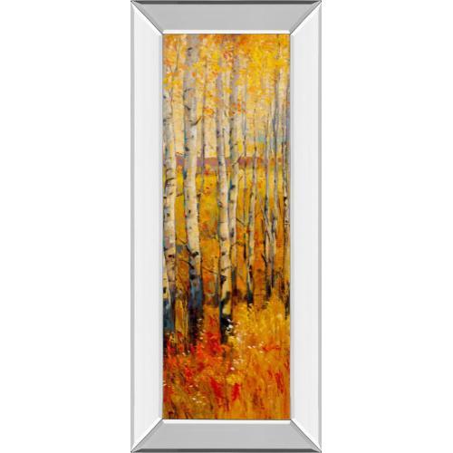 """Vivid Birch Forest Il"" By Tim Otoole Mirror Framed Print Wall Art"